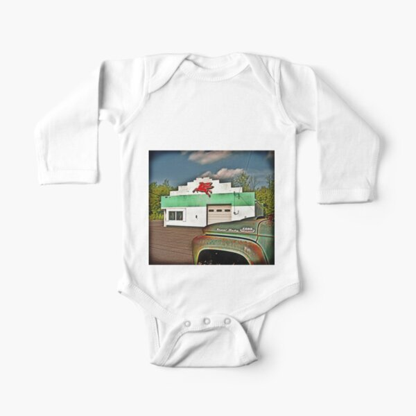 Fill'r Up Long Sleeve Baby One-Piece