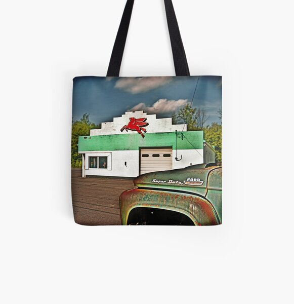 Fill'r Up All Over Print Tote Bag