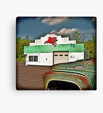 Fill'r Up Canvas Print