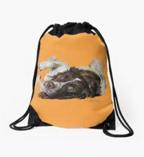 Tigg, Springer Spaniel Drawstring Bag