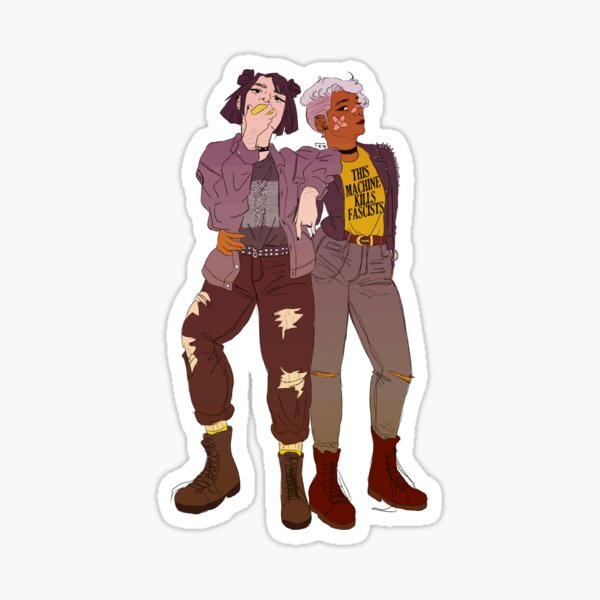 punk isnt just for your boyfriend Sticker