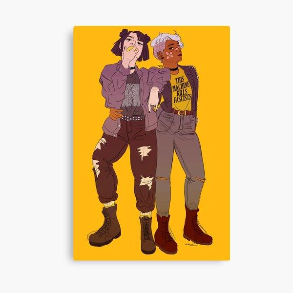 punk isnt just for your boyfriend Canvas Print