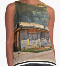 Jackson Mississippi Sky looms over McLean Texas Sleeveless Top
