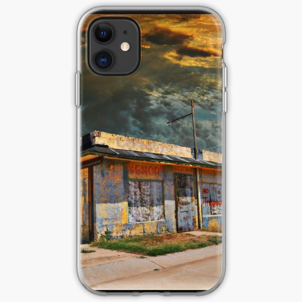 Jackson Mississippi Sky looms over McLean Texas iPhone Soft Case