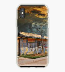 Jackson Mississippi Sky looms over McLean Texas iPhone Case