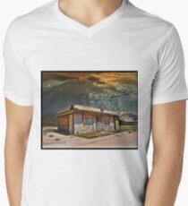 Jackson Mississippi Sky looms over McLean Texas Men's V-Neck T-Shirt