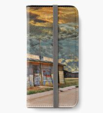 Jackson Mississippi Sky looms over McLean Texas iPhone Wallet/Case/Skin