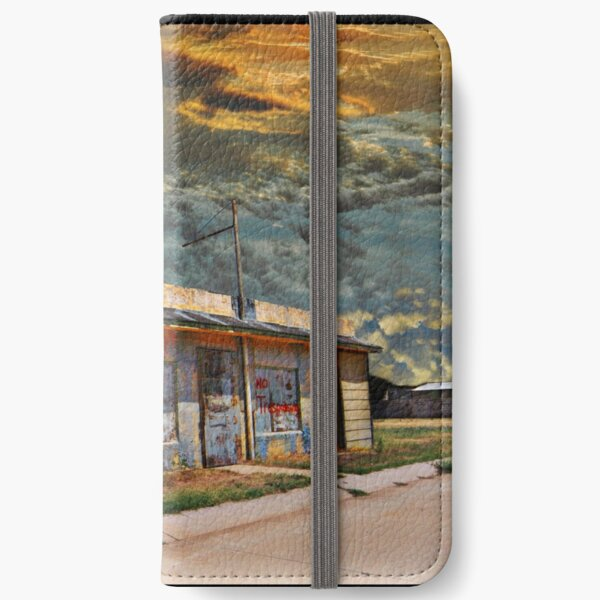Jackson Mississippi Sky looms over McLean Texas iPhone Wallet