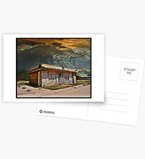 Jackson Mississippi Sky looms over McLean Texas Postcards