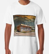 Jackson Mississippi Sky looms over McLean Texas Long T-Shirt