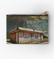 Jackson Mississippi Sky looms over McLean Texas Zipper Pouch