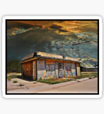 Jackson Mississippi Sky looms over McLean Texas Sticker