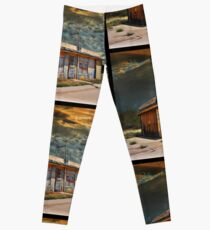 Jackson Mississippi Sky looms over McLean Texas Leggings