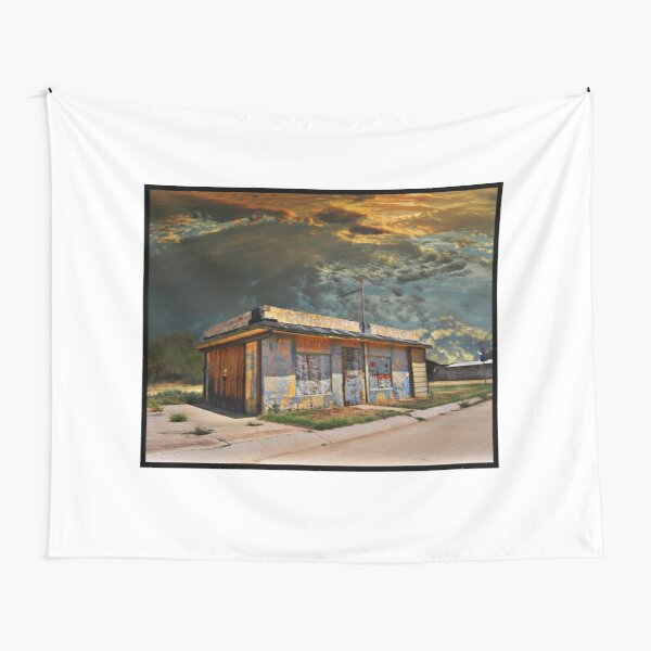Jackson Mississippi Sky looms over McLean Texas Tapestry