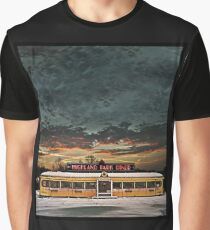 Vicksburg Mississippi Sky over the Highland Park Diner, Rochester Graphic T-Shirt