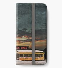 Vicksburg Mississippi Sky over the Highland Park Diner, Rochester iPhone Wallet/Case/Skin