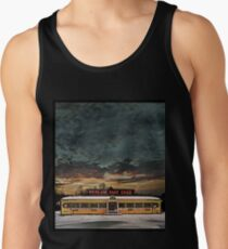 Vicksburg Mississippi Sky over the Highland Park Diner, Rochester Tank Top