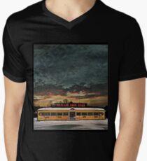 Vicksburg Mississippi Sky over the Highland Park Diner, Rochester Men's V-Neck T-Shirt
