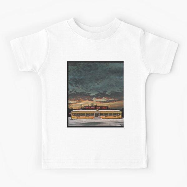 Vicksburg Mississippi Sky over the Highland Park Diner, Rochester Kids T-Shirt