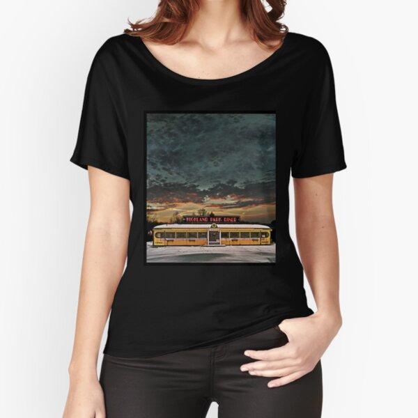 Vicksburg Mississippi Sky over the Highland Park Diner, Rochester Relaxed Fit T-Shirt