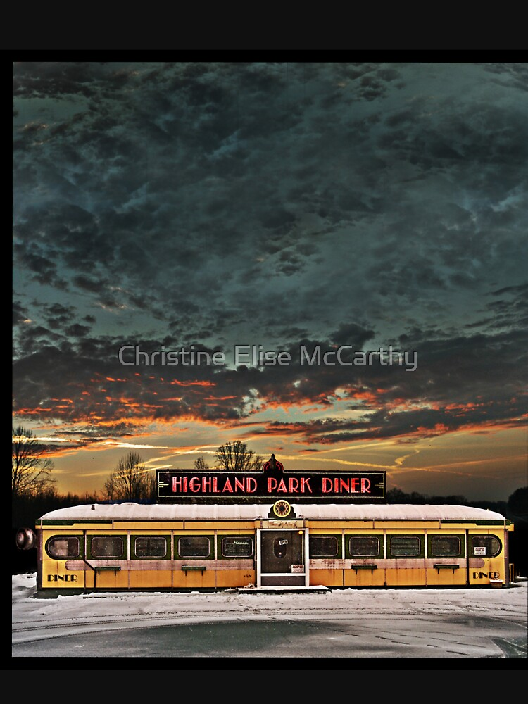 Vicksburg Mississippi Sky over the Highland Park Diner, Rochester by jdempsey
