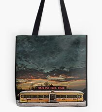 Vicksburg Mississippi Sky over the Highland Park Diner, Rochester Tote Bag