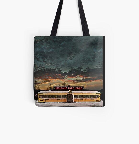 Vicksburg Mississippi Sky over the Highland Park Diner, Rochester All Over Print Tote Bag