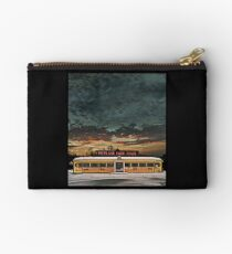 Vicksburg Mississippi Sky over the Highland Park Diner, Rochester Zipper Pouch