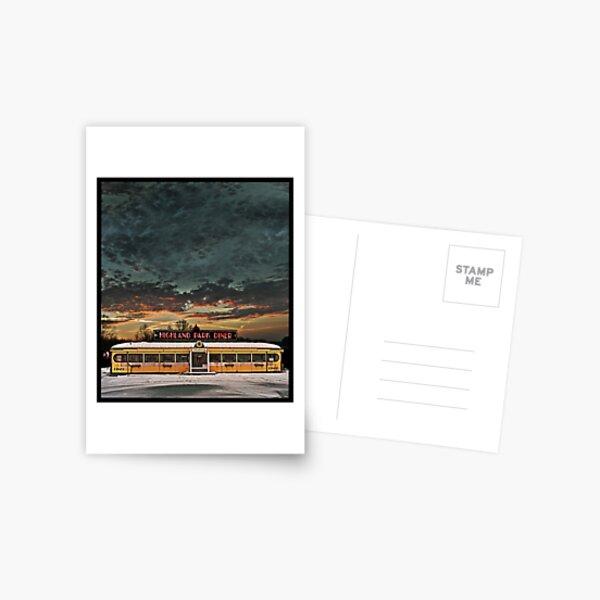 Vicksburg Mississippi Sky over the Highland Park Diner, Rochester Postcard