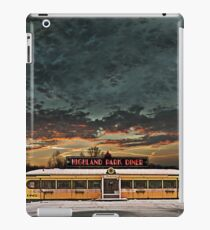 Vicksburg Mississippi Sky over the Highland Park Diner, Rochester iPad Case/Skin