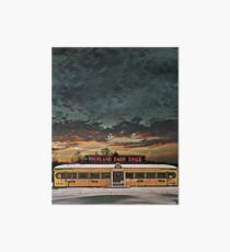 Vicksburg Mississippi Sky over the Highland Park Diner, Rochester Art Board