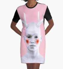 Antlers 2 Graphic T-Shirt Dress