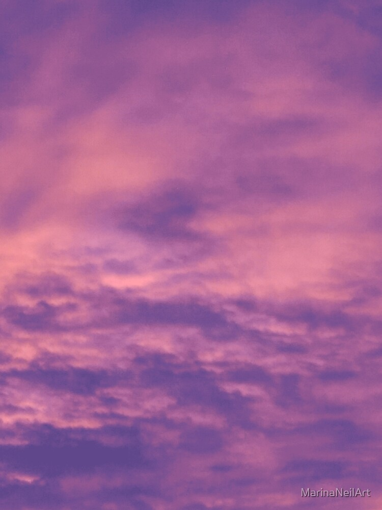 Warm Evening Sunset by MarinaNeilArt