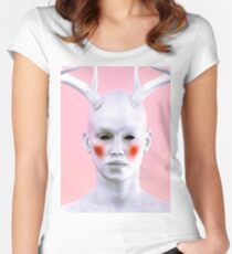Antlers 2 Women's Fitted Scoop T-Shirt