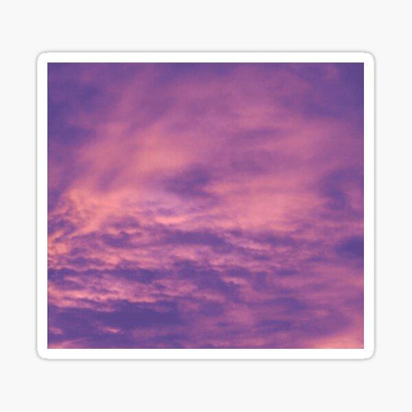 Warm Evening Sunset Sticker