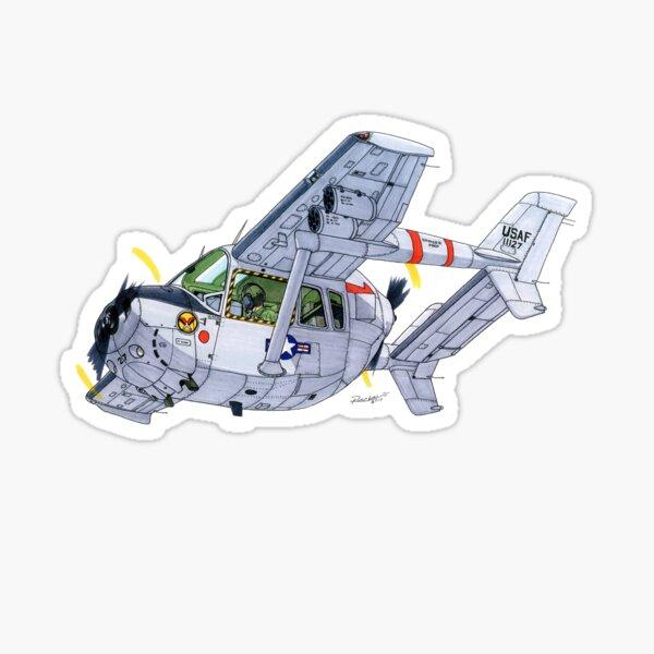 Cessna O-2A Skymaster Sticker