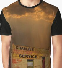 Charlie's Radiator Service, Milan, New Mexico Graphic T-Shirt