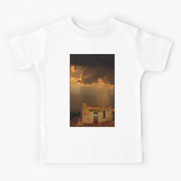 Charlie's Radiator Service, Milan, New Mexico Kids T-Shirt