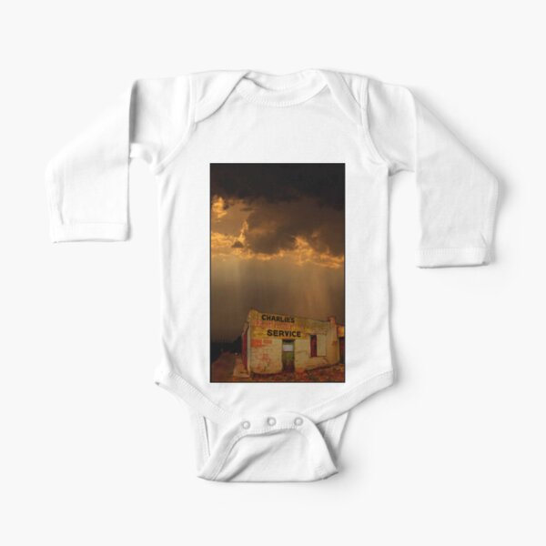 Charlie's Radiator Service, Milan, New Mexico Long Sleeve Baby One-Piece