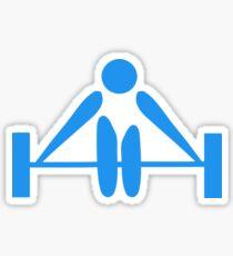 weightlifter Sticker