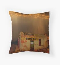 Charlie's Radiator Service, Milan, New Mexico Floor Pillow