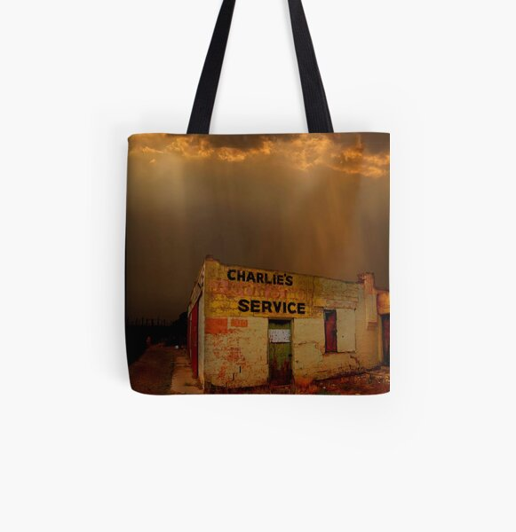 Charlie's Radiator Service, Milan, New Mexico All Over Print Tote Bag