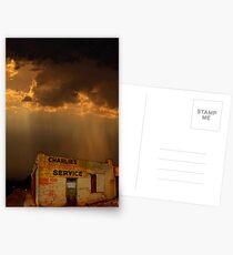 Charlie's Radiator Service, Milan, New Mexico Postcards