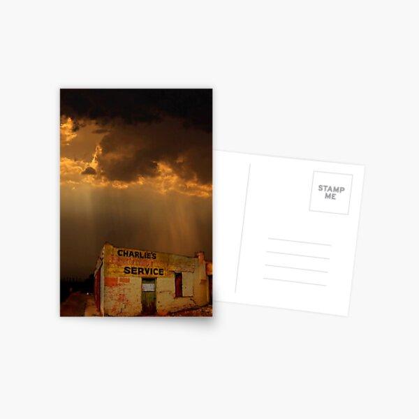 Charlie's Radiator Service, Milan, New Mexico Postcard