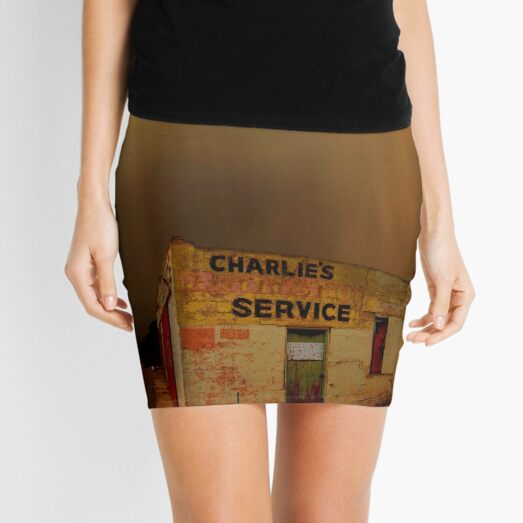 Charlie's Radiator Service, Milan, New Mexico Mini Skirt