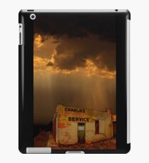 Charlie's Radiator Service, Milan, New Mexico iPad Case/Skin