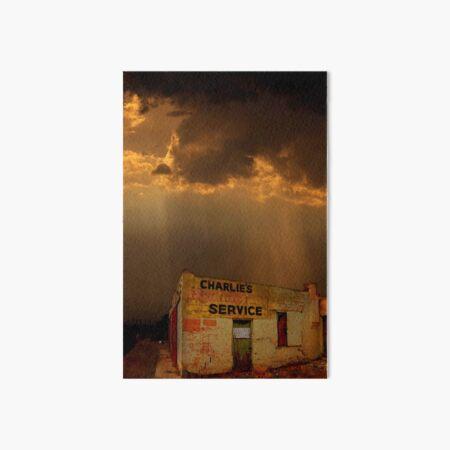 Charlie's Radiator Service, Milan, New Mexico Art Board Print