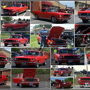 1965 Ford Mustang Fastback Collage by TeeMack