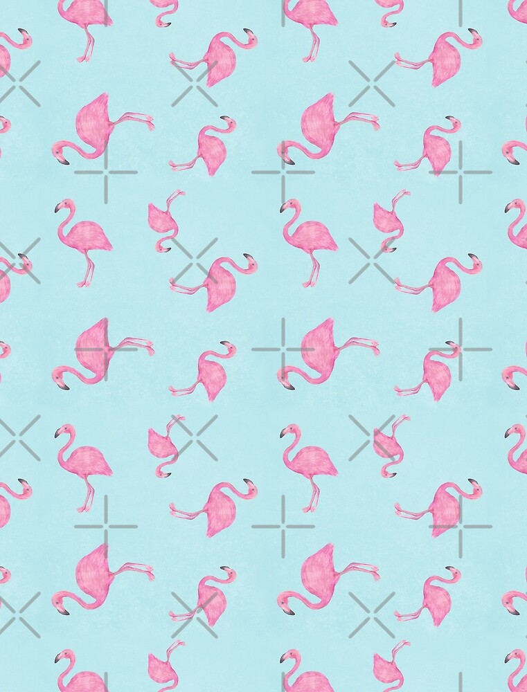 Flamingos by meandthemoon