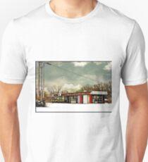 I-90 2-27-08 7:44 AM NEW YORK Slim Fit T-Shirt